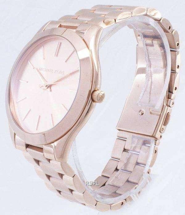 Michael Kors pasarela Rosa dorado MK3197 reloj de mujeres