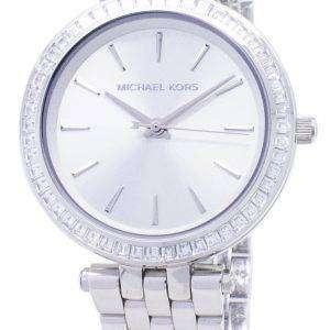 Reloj Michael Kors Petite Darci plata Dial acero inoxidable MK3364 de la mujer