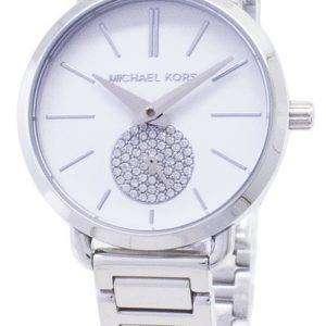 Michael Kors Petite Portia cuarzo diamante acento MK3837 Watch de Women