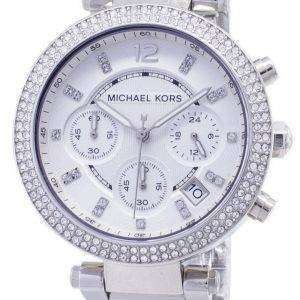 Reloj Michael Kors Parker cristales Cronógrafo MK5353 de las mujeres