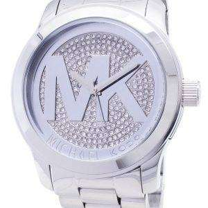 Michael Kors pista cristal allanar MK5544 reloj de mujeres