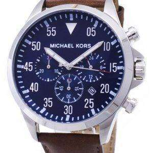 Michael Kors calibre Cronógrafo esfera azul MK8362 reloj de hombres