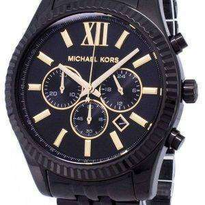 Reloj Michael Kors Lexington MK8603 cronógrafo de cuarzo analógico de los hombres