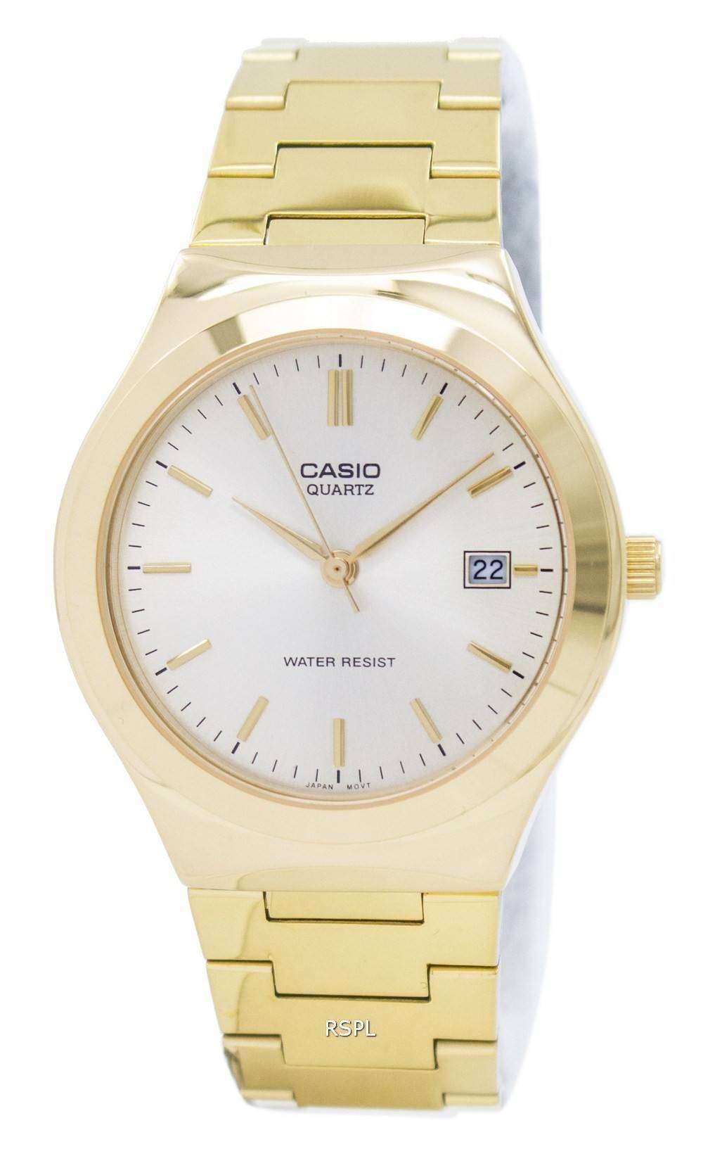 d6bf1e23d399 Reloj Casio cuarzo analógico dorado esfera MTP-1170N-9ARDF MTP-1170N ...