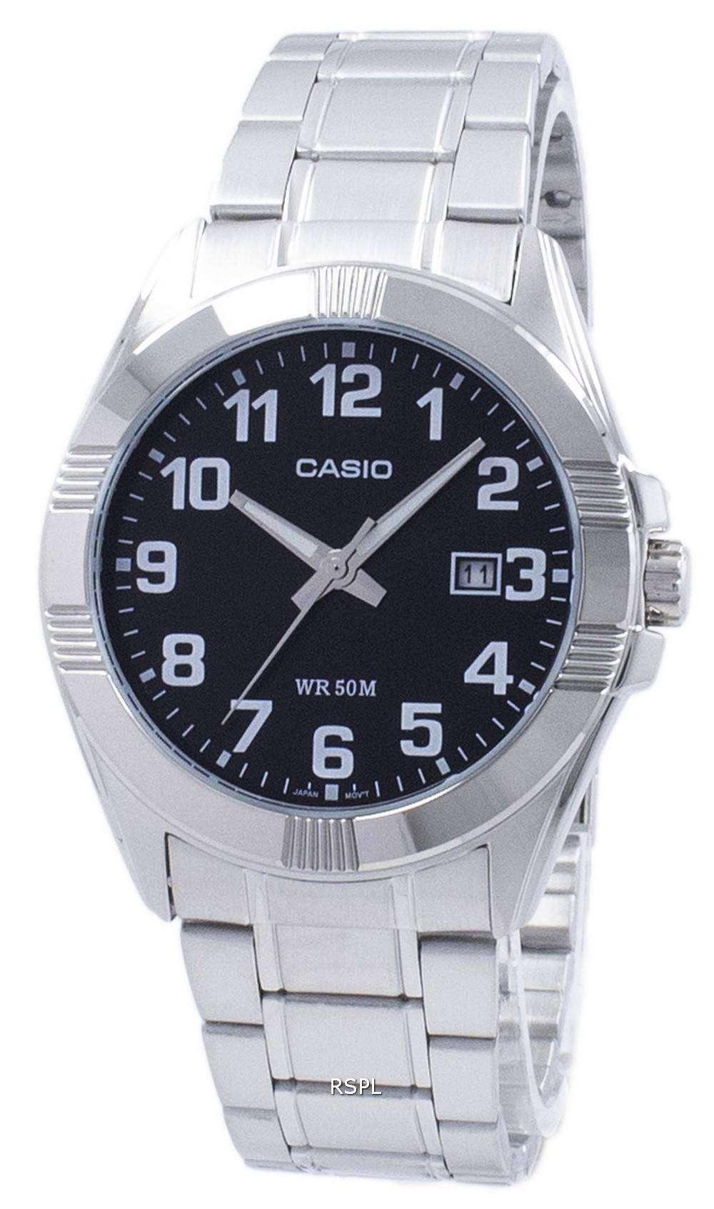 1bv De Analógico Casio Men 1308 D Mtp Cuarzo Mtp1308d Reloj I2HDWE9