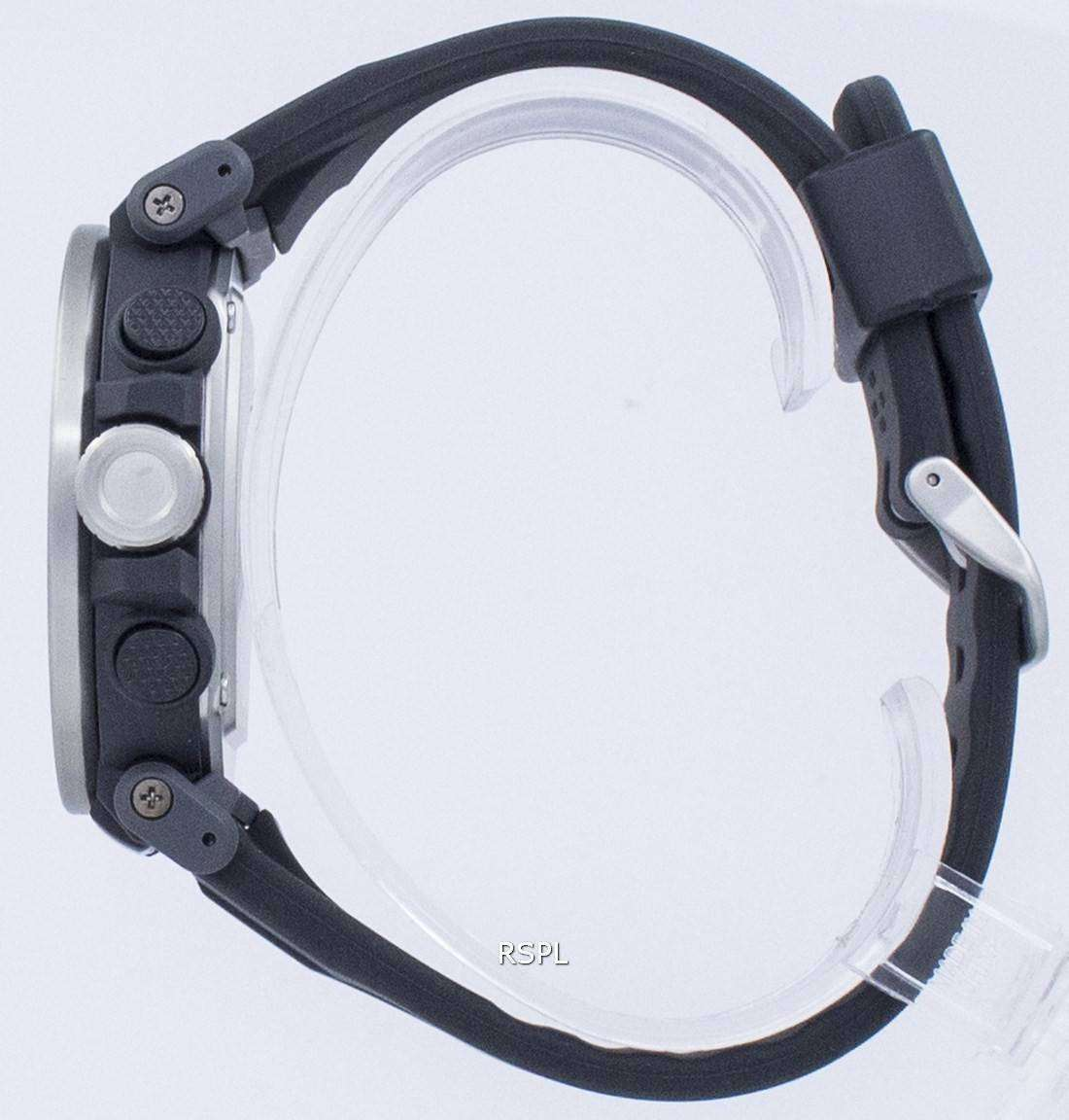 Reloj Casio ProTrek Triple Sensor Tough Solar PRG 600 1 PRG600 1 de los hombres