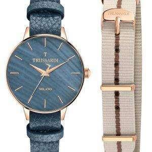 Trussardi T-evolución cuarzo R2451120506 Watch de Women