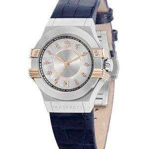Acentos de Maserati Potenza diamante de cuarzo R8851108502 Watch de Women