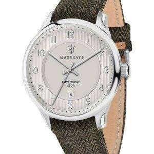Caballero de Maserati R8851136002 cuarzo de reloj Men