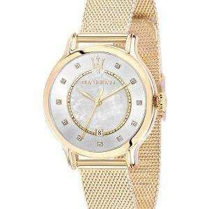Acentos de Maserati Epoca diamante de cuarzo R8853118502 Watch de Women