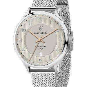 Caballero de Maserati R8853136001 cuarzo de reloj Men