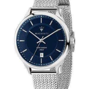 Caballero de Maserati R8853136002 cuarzo de reloj Men