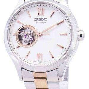 Orient automático RA-AG0020S10B corazón abierto analógico Watch de Women