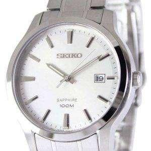 Seiko Neo Classic cuarzo zafiro 100M SGEH39P1 SGEH39P reloj de hombres