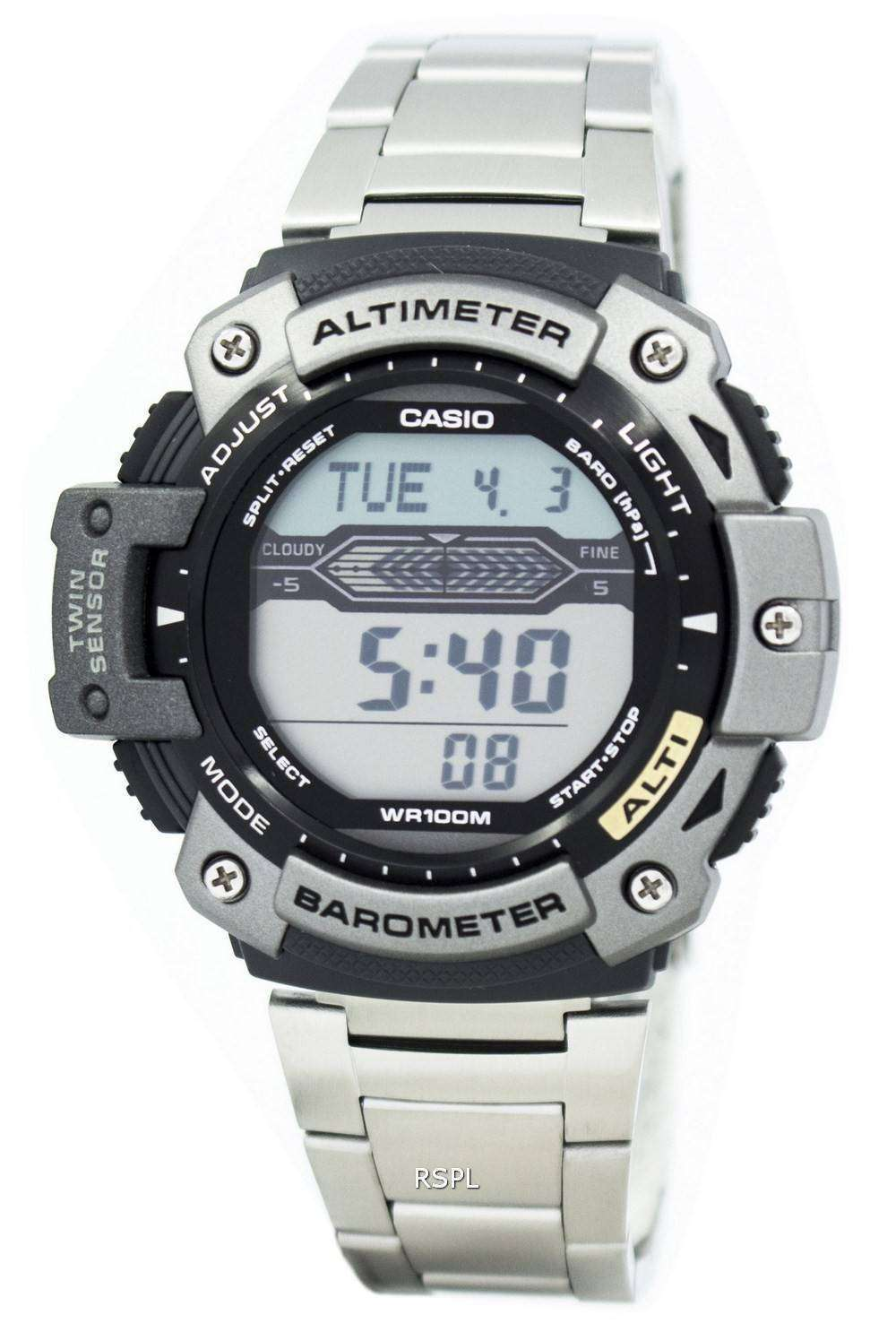 49a42e70d7e5 Casio SGW-300HD-1AVDR SGW-300HD-1 SGW300HD altímetro termómetro reloj