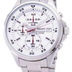 Reloj Seiko cronógrafo de cuarzo SKS623 SKS623P1 SKS623P de los hombres