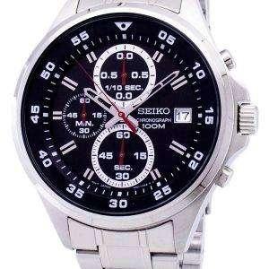 Reloj Seiko cronógrafo de cuarzo SKS627 SKS627P1 SKS627P de los hombres