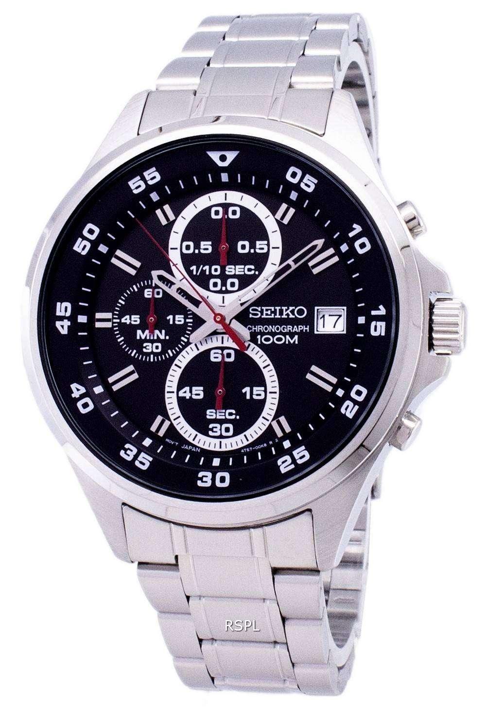 5dcab8d98c41 Reloj Seiko cronógrafo de cuarzo SKS627 SKS627P1 SKS627P de los hombres