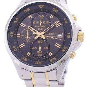 Reloj Seiko cronógrafo de cuarzo SKS631 SKS631P1 SKS631P de los hombres