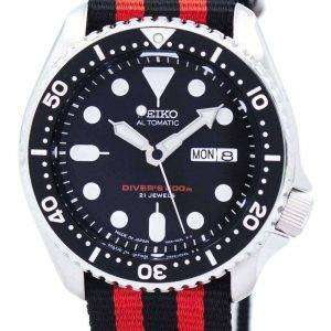 Reloj 200M la OTAN correa SKX007J1-NATO3 hombres de Seiko Automatic Diver