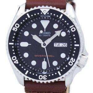 Reloj Nylon correa SKX007K1 NS1 200M de los hombres de Seiko Automatic Diver