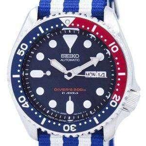 Reloj 200M la OTAN correa SKX009J1-NATO2 hombres de Seiko Automatic Diver