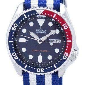 Reloj 200M la OTAN correa SKX009K1-NATO2 hombres de Seiko Automatic Diver
