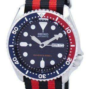Reloj 200M la OTAN correa SKX009K1-NATO3 hombres de Seiko Automatic Diver
