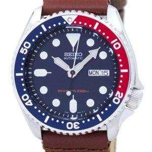 Reloj Nylon correa SKX009K1-NS1 200M de los hombres de Seiko Automatic Diver