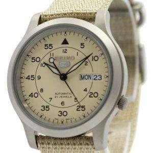 Reloj SNK803K2 SNK803K SNK803 de Seiko 5 autom√°tico mec√°nico autom√°tico Nylon correa militares
