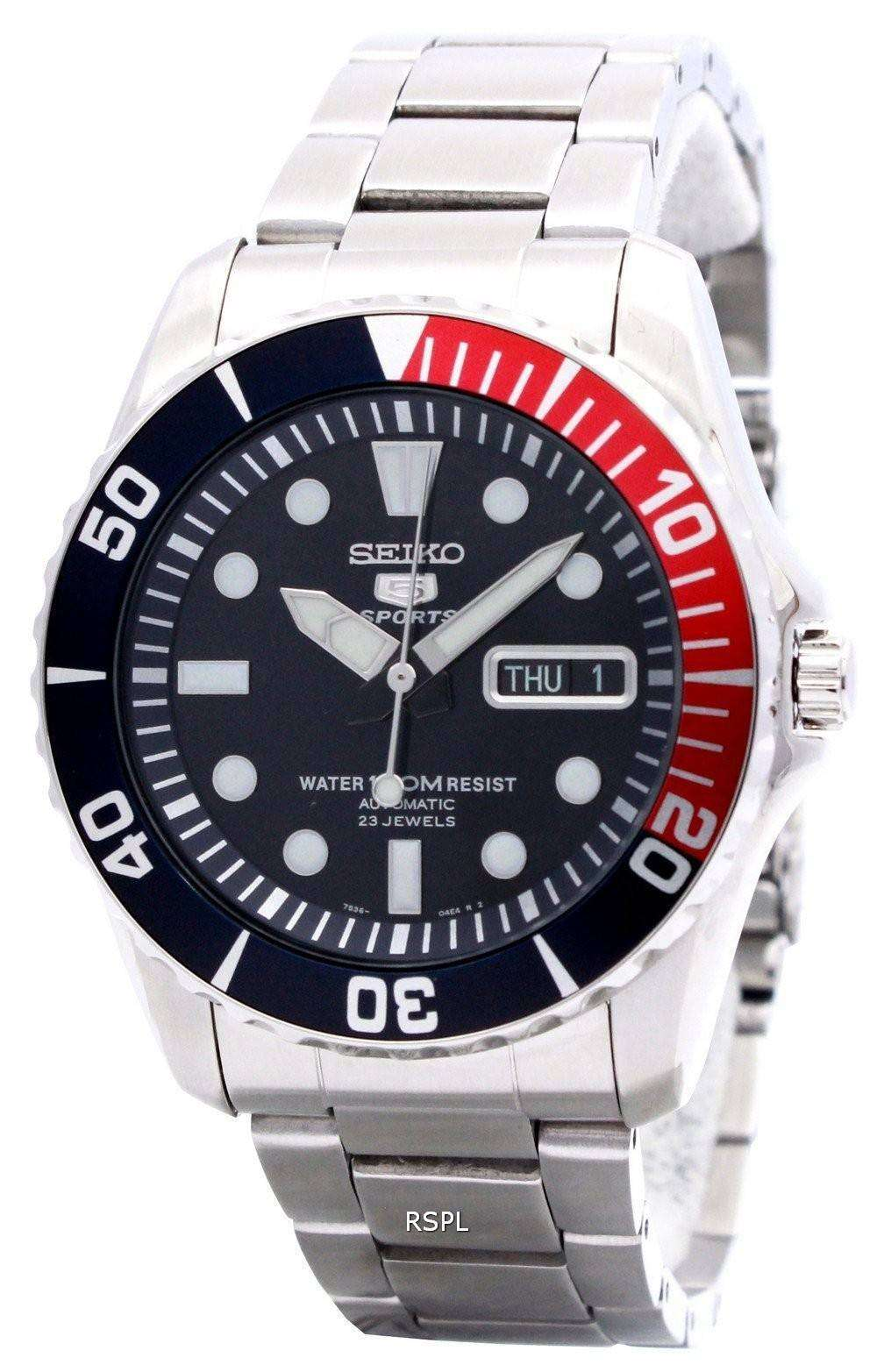 f9b0166e9f3d Seiko Automatic Divers 23 joyas 100 m reloj SNZF15K1 SNZF15K ...