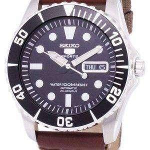 Reloj Seiko 5 Sports automático lona correa SNZF17K1-NS1 de los hombres