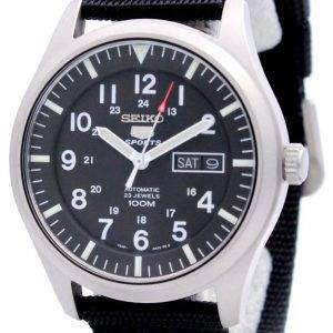Reloj de Seiko 5 Automatic hombres 100m deportes nueva SNZG15K1 SNZG15