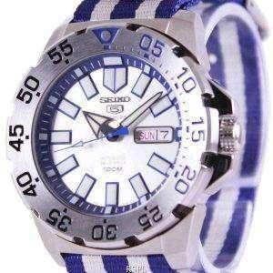 Seiko 5 Sports automático OTAN correa SRP481K1-NATO2 reloj de hombres