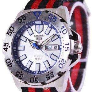 Seiko 5 Sports automático OTAN correa SRP481K1-NATO3 reloj de hombres
