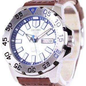 Reloj Seiko 5 Sports automático lona correa SRP481K1 NS1 de los hombres