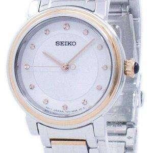 Seiko Descubre m√°s cuarzo diamante Accent SRZ480 SRZ480P1 SRZ480P Watch de Women