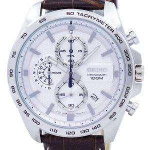 Reloj Seiko cronógrafo cuarzo taquímetro SSB263 SSB263P1 SSB263P de los hombres