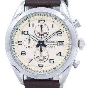 Reloj Seiko cronógrafo de cuarzo SSB273 SSB273P1 SSB273P de los hombres