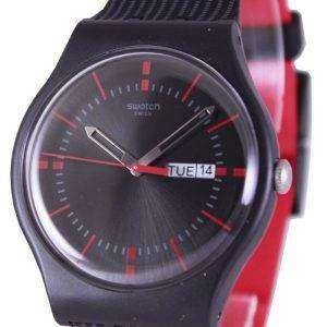 Reloj Unisex Swatch originales GAET cuarzo suizo SUOB714