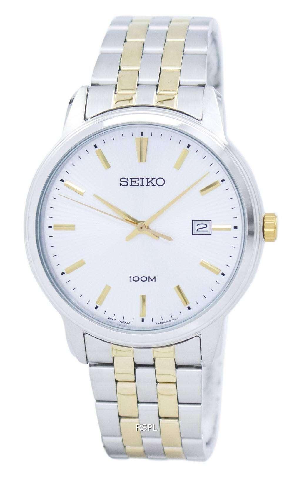 f21e7563eded Reloj Seiko Neo Classic cuarzo SUR263 SUR263P1 SUR263P de los hombres