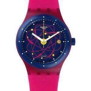Reloj Unisex Swatch originales Sistem rosa SUTR401 autom√°tico