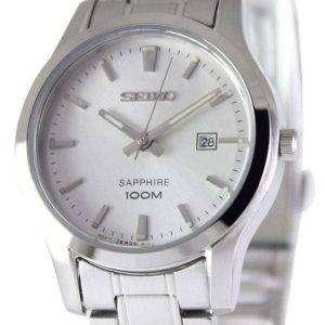 Reloj Seiko zafiro cuarzo 100M SXDG61P1 SXDG61P de las mujeres