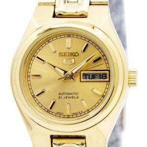 Reloj Seiko 5 automático 21 rubíes SYMA04 SYMA04K1 SYMA04K de las mujeres