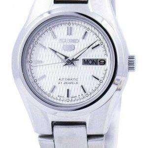 Reloj Seiko 5 automático 21 rubíes SYMC07 SYMC07K1 SYMC07K de las mujeres