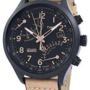 Reloj Timex Indiglo inteligente Fly-Back Cronógrafo de cuarzo T2N700 de los hombres