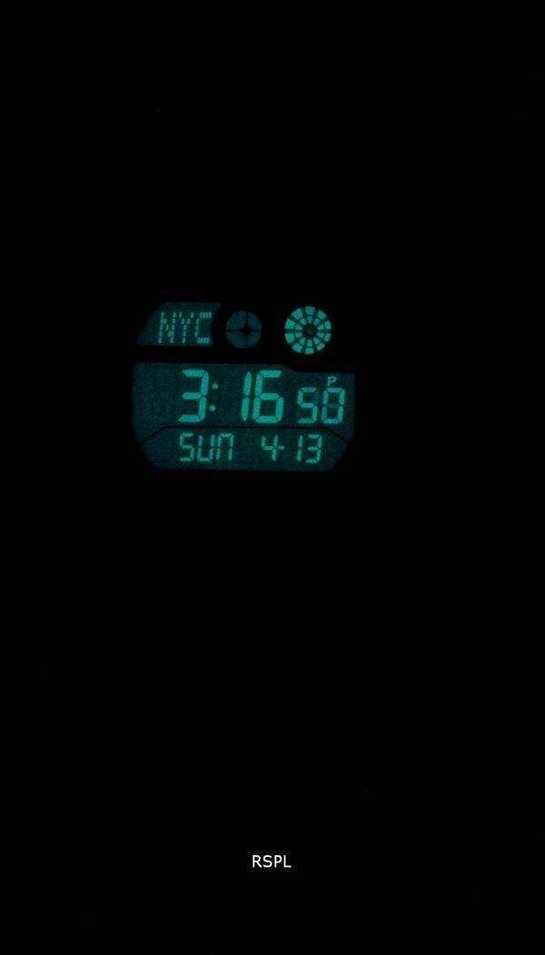 Reloj Timex Expedition Shock mundo tiempo Indiglo Digital T49972 de los hombres