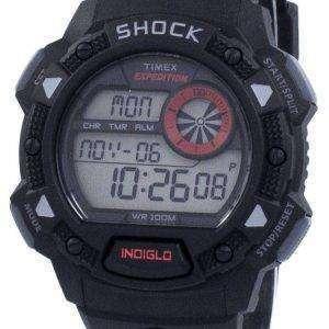 Timex expedición antiimpactos De Base choque Indiglo Digital T49977 Watch de Men