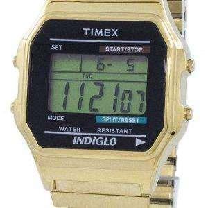 32dd5157e6c6 Timex Classic Indiglo cronógrafo alarma Digital T78677 Watch de Men