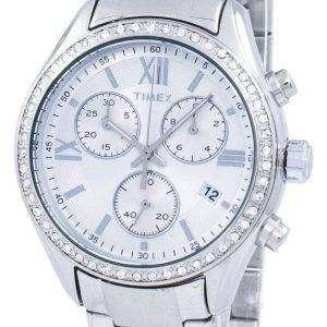 Reloj Timex Miami Cronógrafo cuarzo diamante acento TW2P66800 de las mujeres